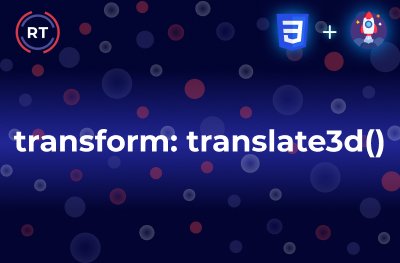 Transform Translate3d
